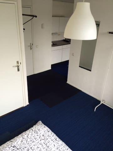 Spacious studio in city centrum - Groningen - Apartamento