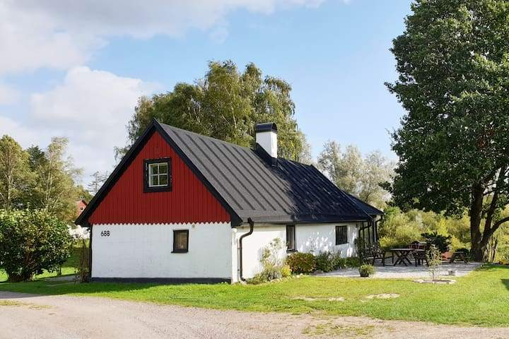 Idyllic house outside Lund/Malmö