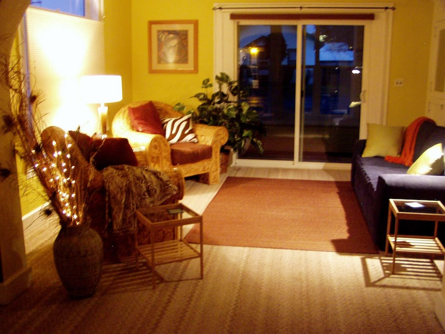 Evening ambience...in Living/conversation room  #2
