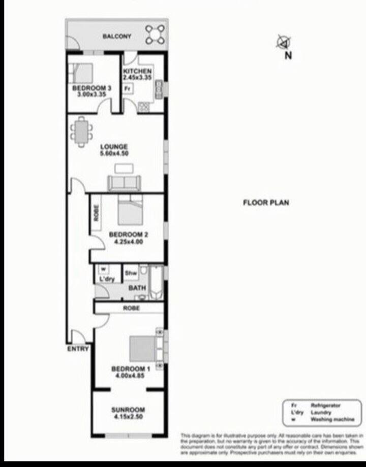 50m from Bondi Beach - Private Room