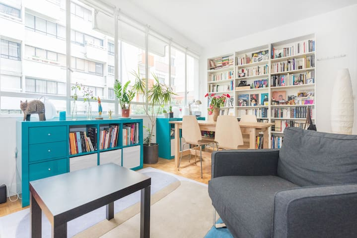 Cosy, quiet & bright flat in Paris - Paris - Apartment
