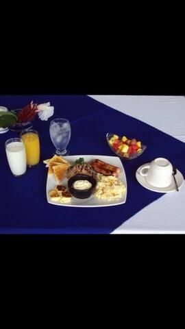 Tipo de desayuno