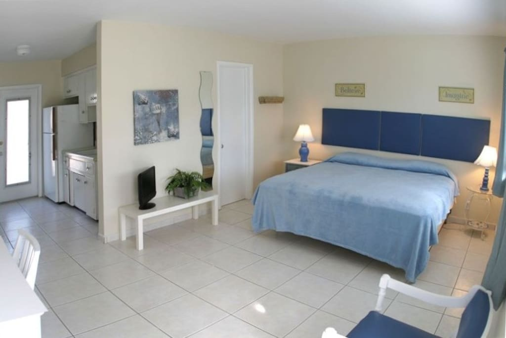 Spacious, Nicely decorated rooms