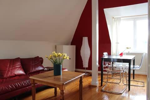 Loft-apartment in a townhouse in Othmarschen