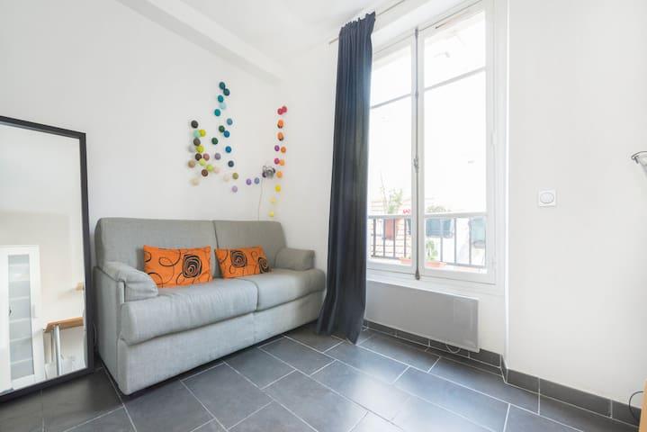 Cosy Studio Flat in Bastille / Marais area