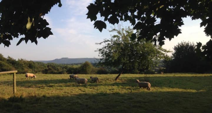 Rural peace and quiet with magnificent views