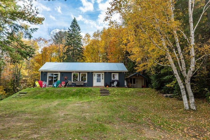Echo Beach Blue Cottage, Lake of Bays, MUSKOKA
