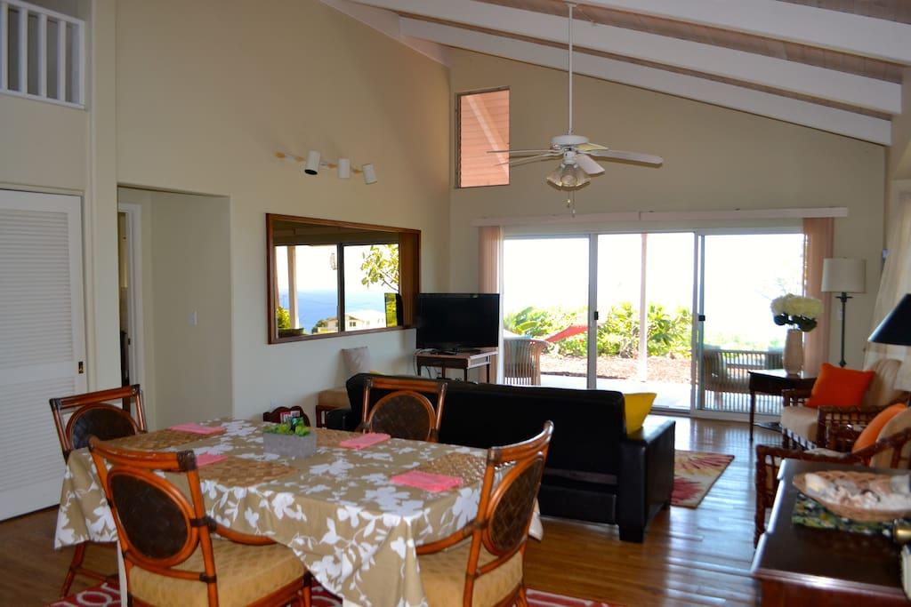 Kohala Cottage, 180° Ocean View!