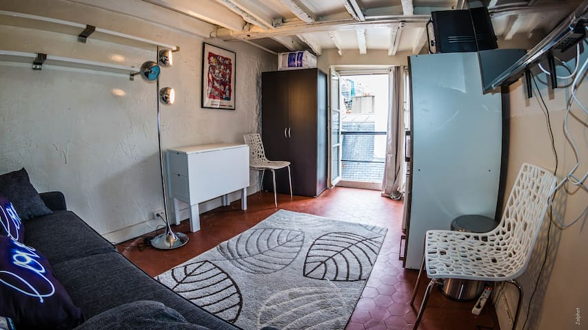Incredible studio in latin quarter.....A dream... - Paris - Lägenhet