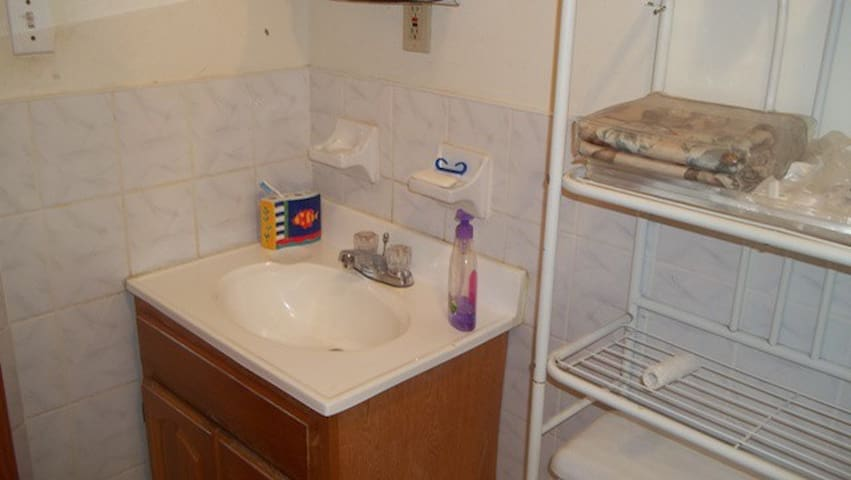 shared bathroom is always very clean