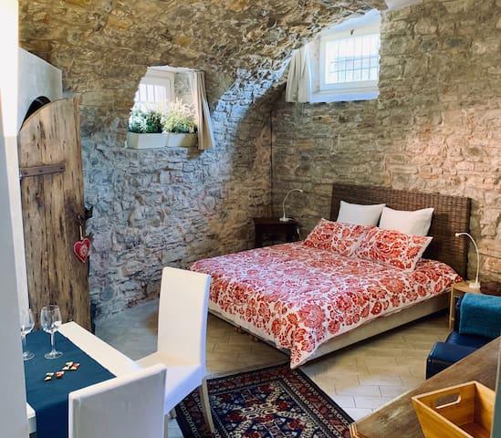 Charming studio in Bergamo Alta