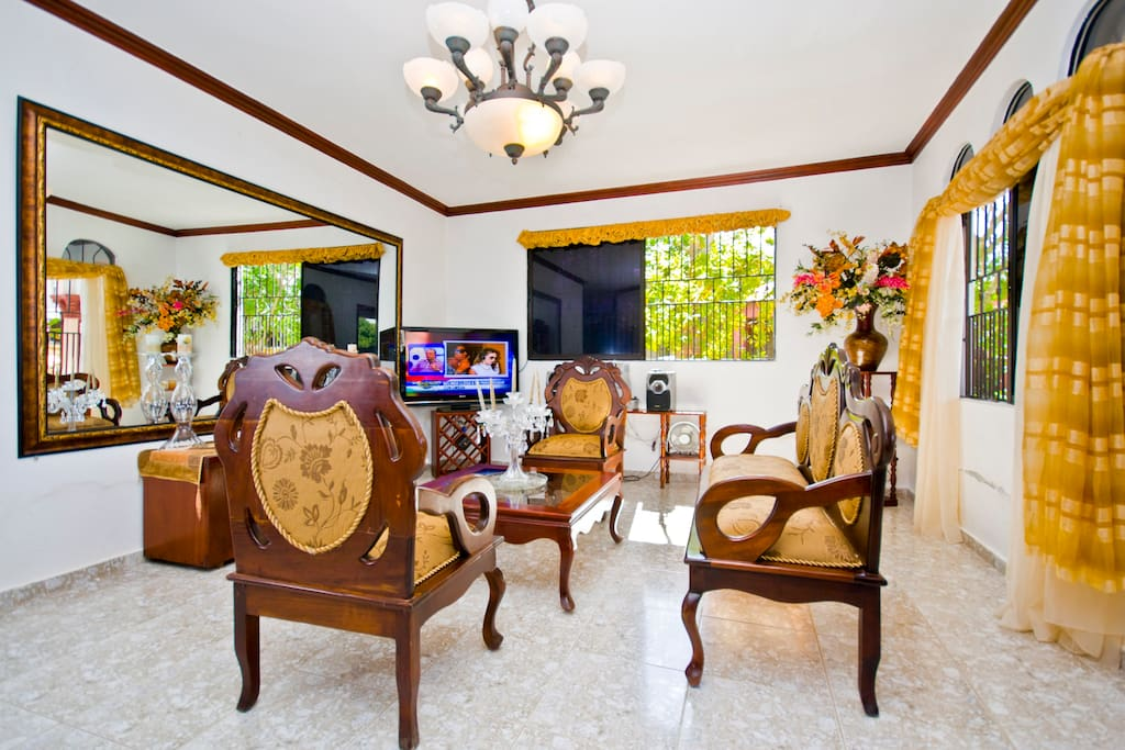 Live like a local in this beautiful and comfortable living room.