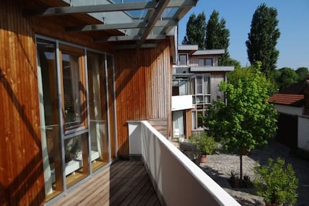 Modern studio flat south of Vienna - Kottingbrunn - Apartemen