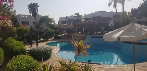 Delta Sharm - apartament cu piscină uimitoare