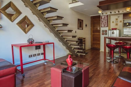 Loft en pleno barrio Lastarrias Santiago Chile - Santiago