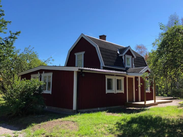 Country home in Målsättra with a view