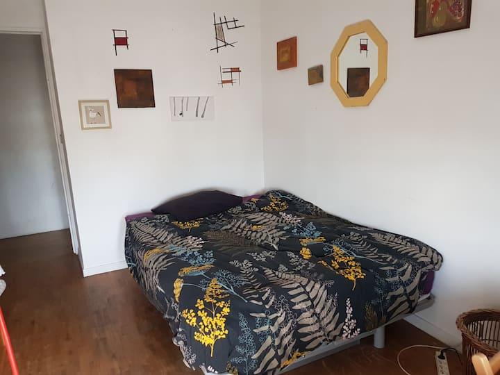 """Chambre calme dans grand appartement """"Mirza"""""""