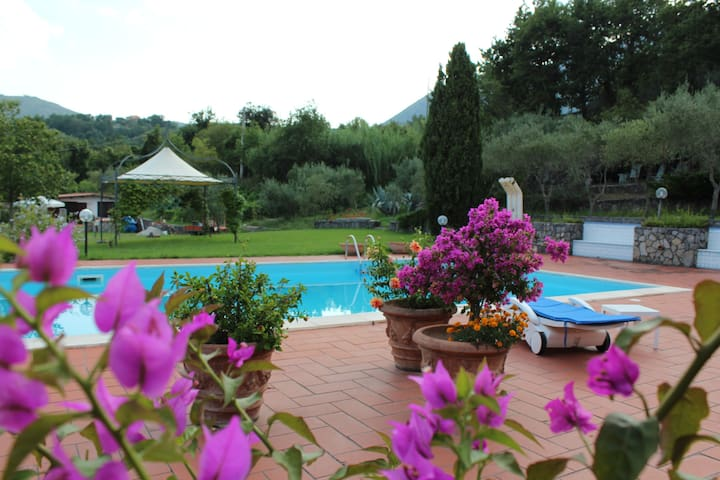 "Villa with swimming-pool ""Le Due Querce"" - San Giovanni A Piro - 別荘"