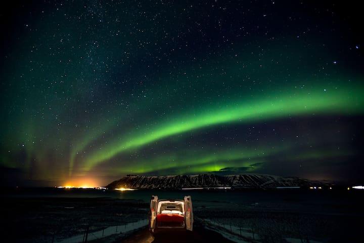 Campervan In Reykjavik