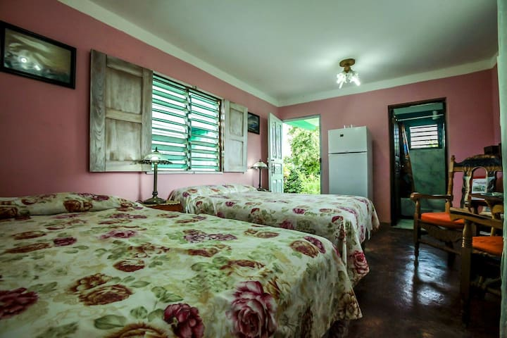 Privacy and comfort in the heart of Viñales