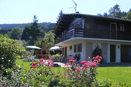 Peacful chalet - Anould - Huis