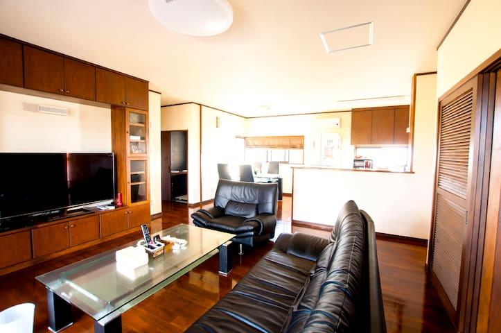 100㎡ vacation house Max8ppl, Near Beautiful Beach! - Nakijin - Vila