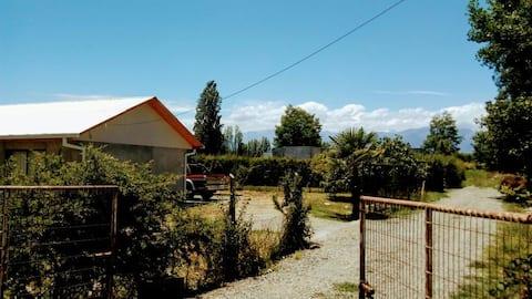 Gran Casa de Campo con Muro de Escalada