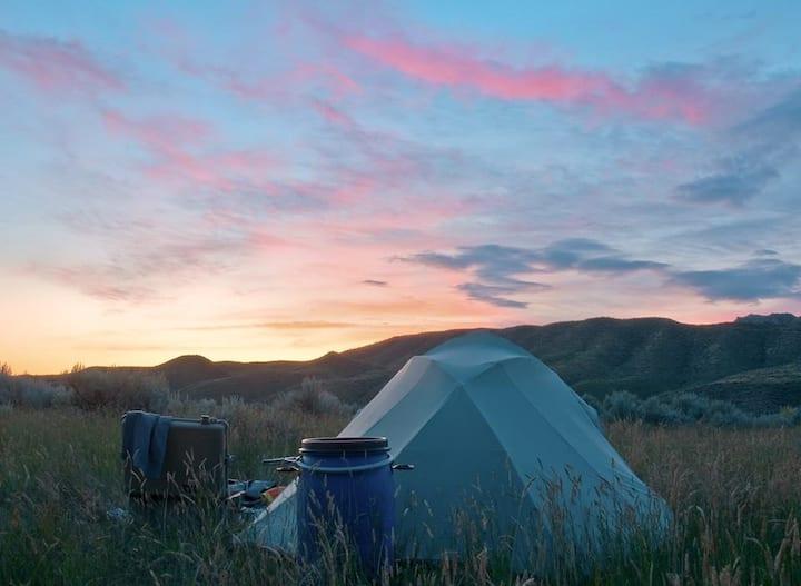 Tent Camp Casper, WY
