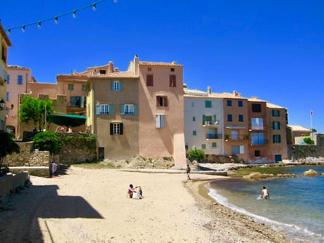 Gorgeous, provencal apartment-Heart of St.Tropez.