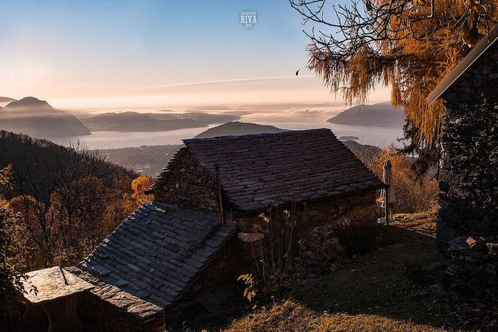 "Baita ""Vrei""- Hut Lago Maggiore"