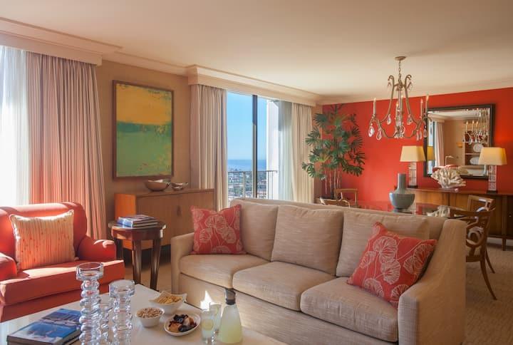 Fashion Island Hotel, Lido Flat Ocean View
