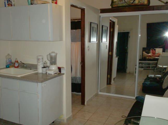 Nice studio apartment, totally independent. - San Juan - Daire