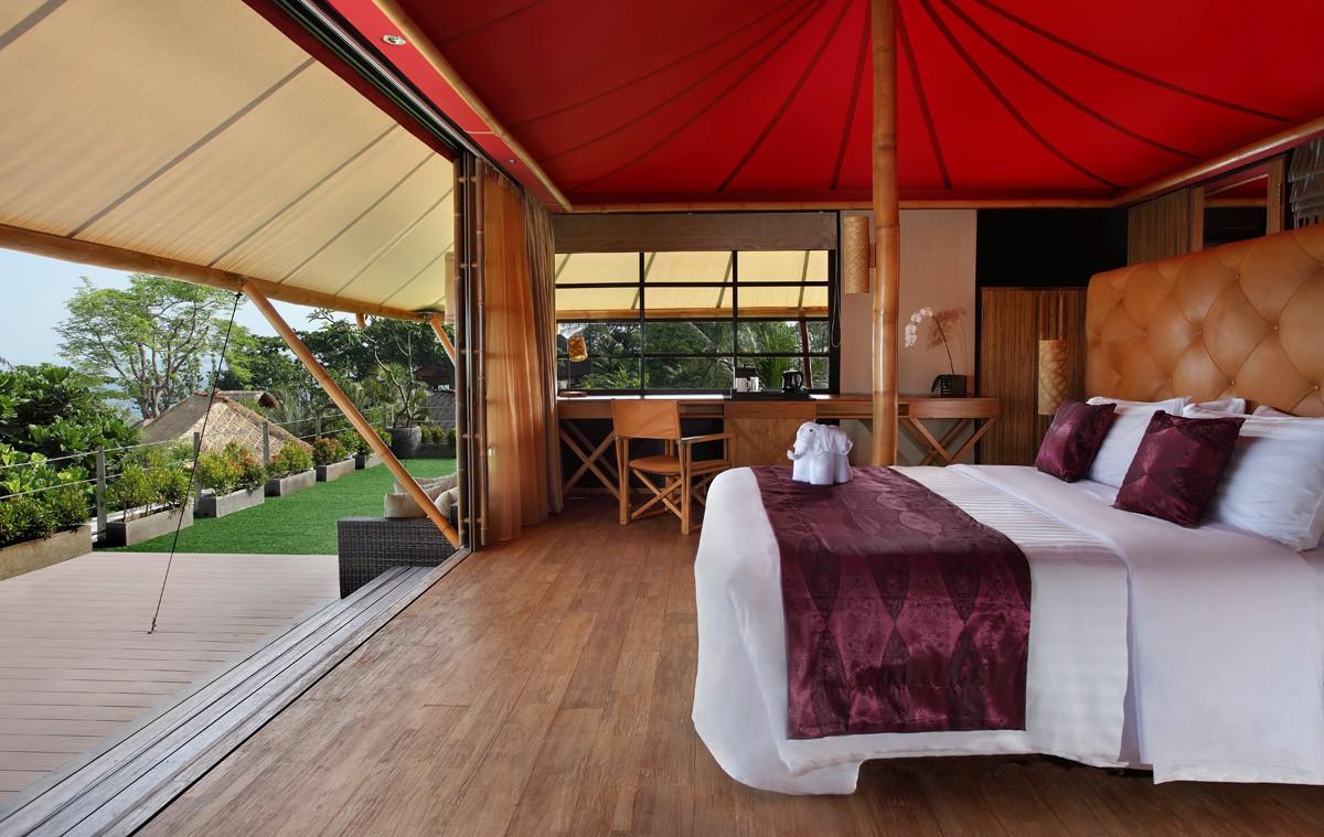 Tent Villa Interior Tent Villa Interior & Glamping Luxury Tent Villa Bali - Bed and breakfasts for Rent in ...
