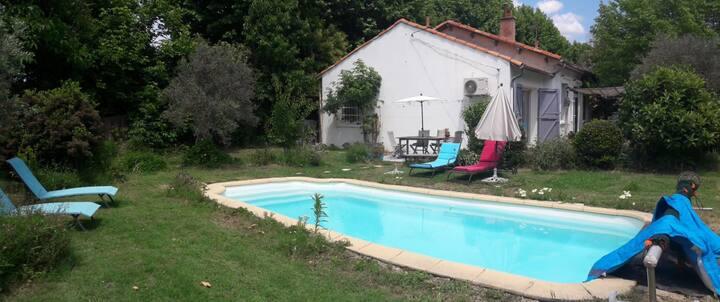 Vacances Alpilles et Luberon, piscine