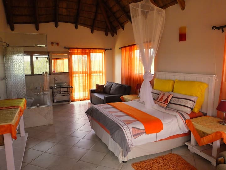 Baobab Orange Room -NUDE- SunEden Naturist Resort