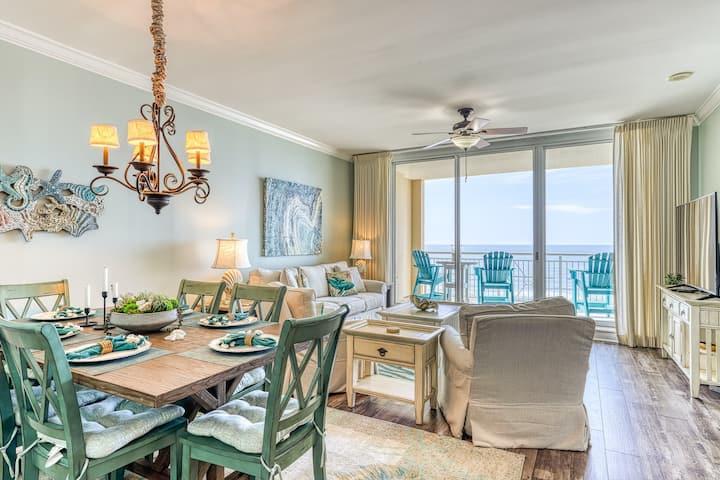Comfortable Beachfront Condo Located On Perdido Key, Near Dining & More!
