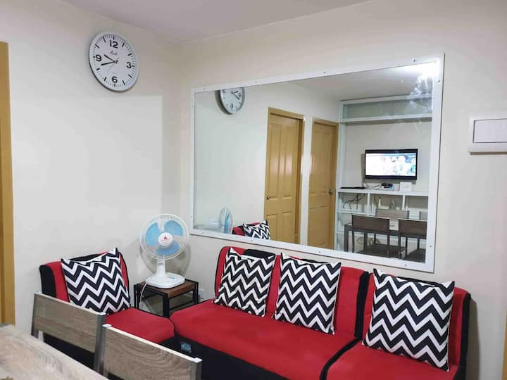 2BR Wifi/Cable fully furnished @ Pasig,City Manila
