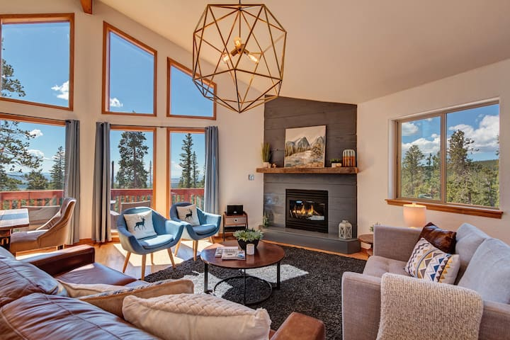Cozy up in front of the fireplace with family and friends.  The ultimate gathering place to create memories, relax and rejuvenate!