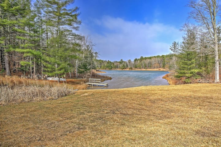 NEW! Lakefront 4BR Windham Area Home w/Boat & Dock