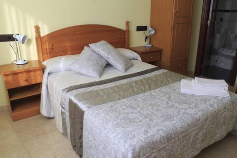 Chambre double idéale pour des séjours de courte durée