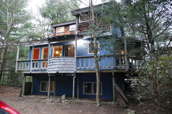 1 Floor of Cabin in the Woods - Ballston Spa - Rumah