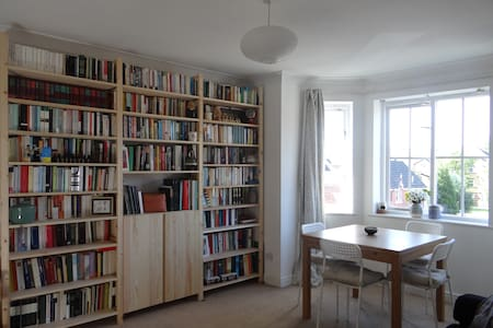 Bright, cosy flat in Fallowfield. - Manchester - Lägenhet
