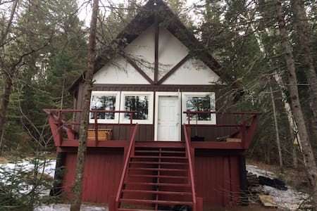 Cozy Chalet 5 minutes North of Sugarloaf - Kingfield
