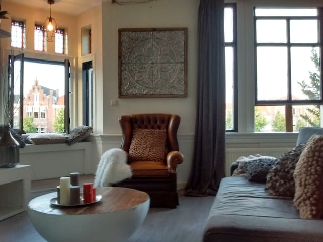 Charming City Centre App with stunning view! - Haarlem - Lejlighedskompleks
