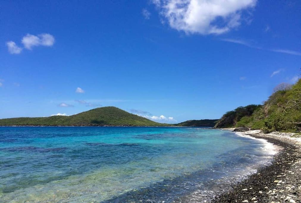 Walk to the ocean and snorkeling area (photo: Maritza Stanchich)