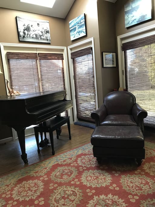 Baby Grand, Chair and Entrance