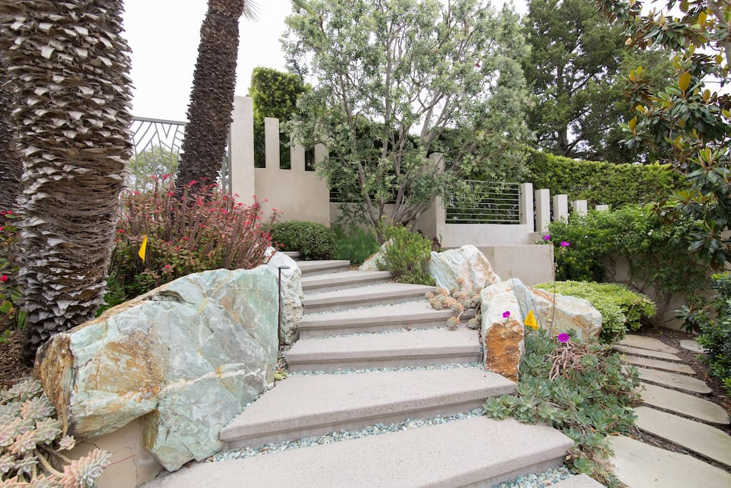 Front Courtyard Stairs