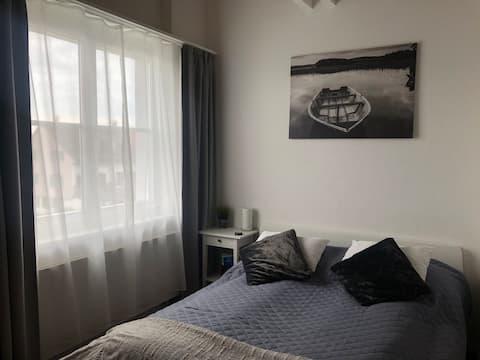 Eget værelse med badeværelse i nærheden af Konstanz/Bodensee