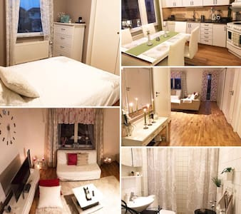Spacious room in charming apartment - Uppsala - Wohnung