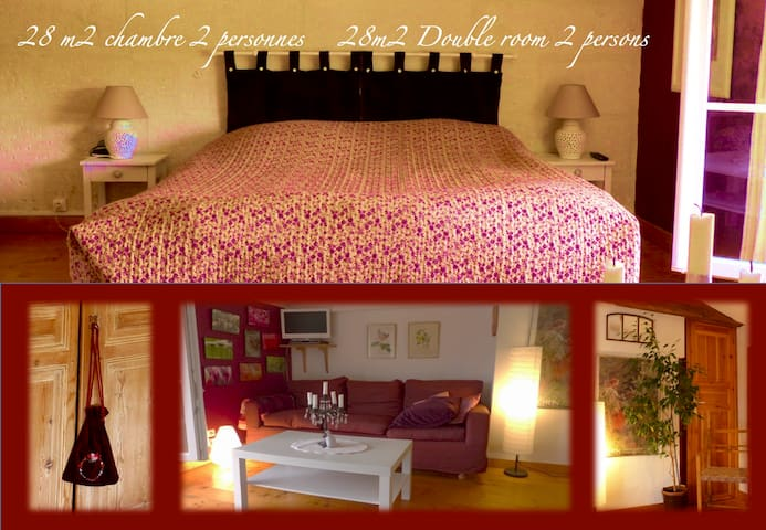 B&B Saint Saloine - Beautiful double room - Saintes - Bed & Breakfast
